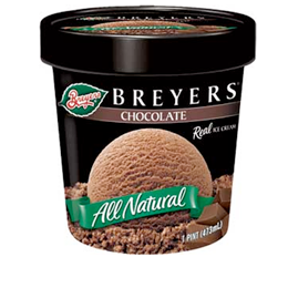 Breyers Ice Cream Pints